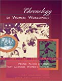 img - for Chronology of Women Worldwide: People, Places & Events That Shaped Women's History book / textbook / text book