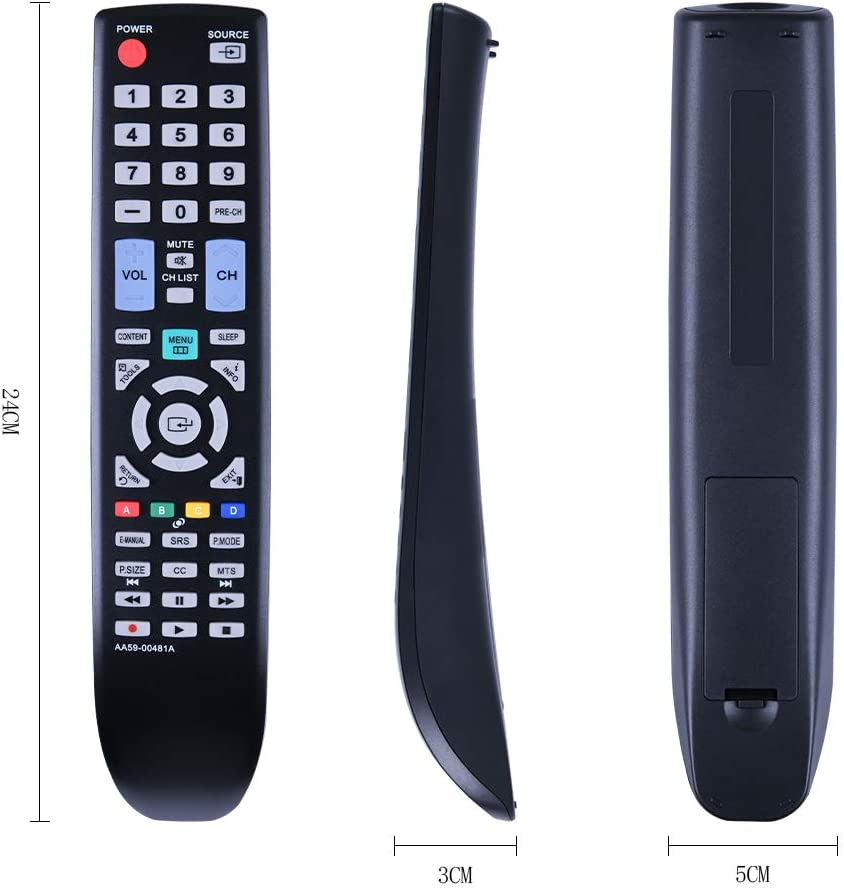 just Install a New Alkaline Battery to use This Alternative Remote Control for Samsung LCD TV. no Programming and Pairing Required New AA59-00481A Replaced Remote fit for Samsung LCD TV