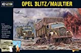 Bolt Action Opel Blitz/Maultier Truck 1:56 WWII Military Wargaming Plastic Model Kit