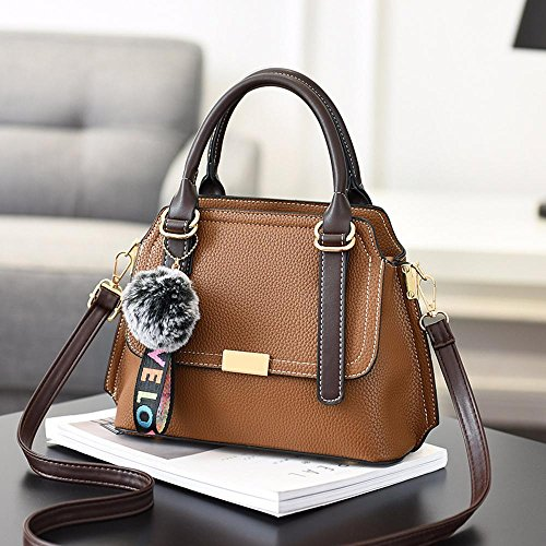 minimaliste main Aoligei à boule Mode shopping D épaule unique sac pendentif fourrure gwZvqw