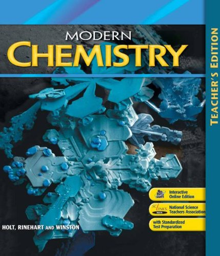 Modern Chemistry: Teacher Edition 2006
