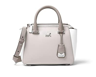 f0c9ea5fb86a Image Unavailable. Image not available for. Color: MICHAEL Michael Kors  Nolita Mini Color-Block Leather ...
