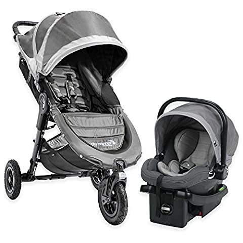 Baby Jogger 1969680US GT Stroller Car Seat Travel System - Steel Gray