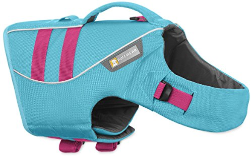 Float Coat Dog Life Jacket (RUFFWEAR DOG FLOAT COAT ♦ NEW PREMIUM LIFE JACKET BUOYANT SECURE REFLECTIVE ♦ ALL COLORS AND SIZES (XS, Blue Atoll))