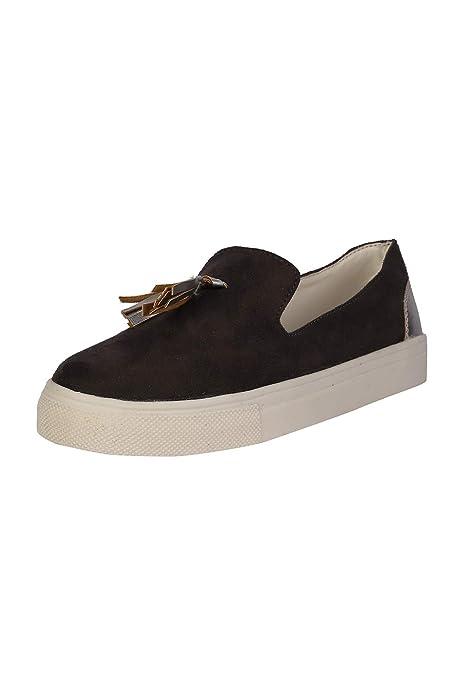 Dark Grey Sneakers-7 UK