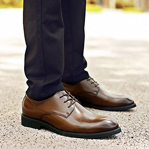 Lavoro In Da Uomo Brogue Brogue Oxford Stringate Scarpe Scarpe In Con Vera Classico Pelle Punta Brown Da A Classiche Derby Pelle tw8xEfxqa