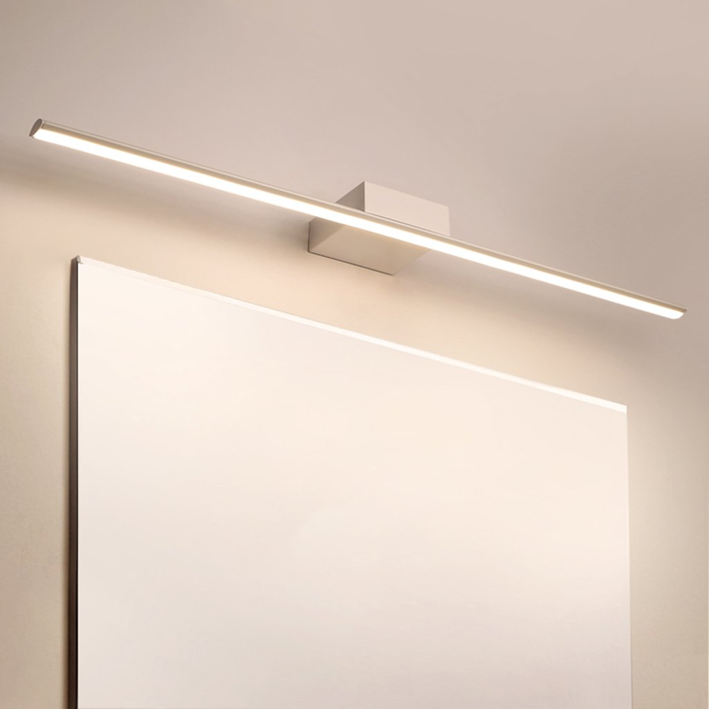 badezimmerlampe Spiegel-Scheinwerfer-weißes LED-Verfassungs-Licht-Badezimmer-ankleidendes Licht Anti-fog wasserdichte Wand-Lampe (Farbe   Round tube-40cm)