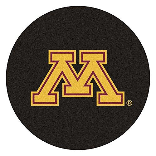Fan Mats University of Minnesota Hockey Puck Area Rug