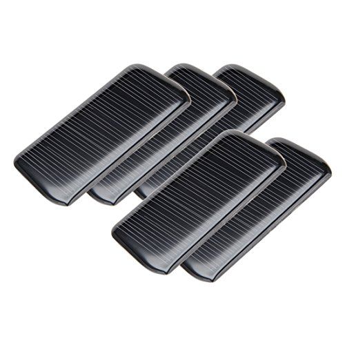 517A7NcYxxL - uxcell 5Pcs 5V 60mA Poly Mini Solar Cell Panel Module DIY for Phone Light Toys Charger 75mm x 36mm