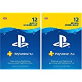 PlayStation Plus: 24 Month Membership | PS4 | PSN Download Code - UK account  - 12 + 12 Months Edition | PS4 Download Code - UK Account