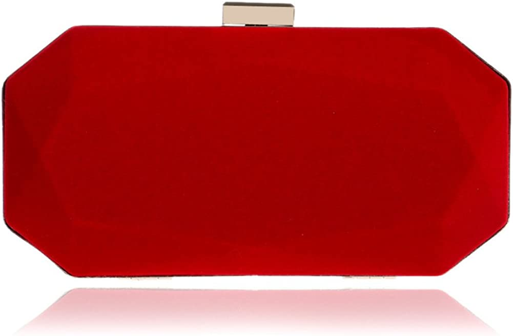 Evening Bag Suede Water...