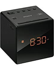 Sony Clock Radio, Black (ICFC1B)
