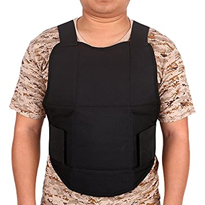 Lixada Bodyguard Protective Vest Outdoor Waistcoat Training Protective Vest Hunting Clothes CS Game Filed Security Guard Waistcoat