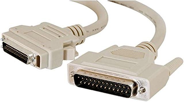 C2G 2m IEEE-1284 DB25/MC36 Cable - Cable de Impresora (Gris ...