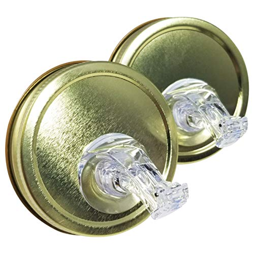 (NEW - Mason Jar Pour Spouts With Flap - For Moonshine And Whiskey - Made 100% In The USA. Free Flow Mason Jar Spouts That Don't Leak - No Cracks, Just A Perfect Cocktail Pour Everytime. 2 Pack)