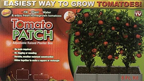 Garden Patch Box (Tomato Patch- Adjustable Raised Planter Box)