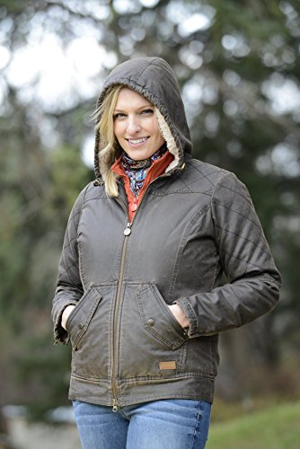 Outback Trading Co Women's CO. Heidi Canyonland Jacket Brown X-Large by Outback Trading (Image #3)