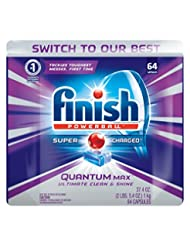 Finish Quantum Max Shine & Protect Dishwasher Detergent Table...