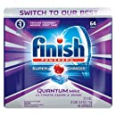 Finish Quantum Max Fresh 64 Tabs, Automatic Dishwasher Detergent Tablets (Packaging May Vary)