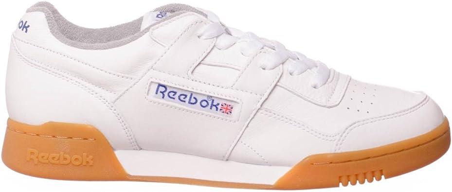 Reebok Workout Plus R12 Gum Pack, whitereebok royalflat grey