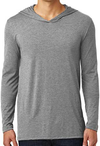 Yoga Clothing For You Mens Lightweight Hoodie Tee