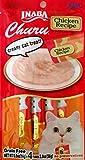 1 Pack Ciao Churu Cat Treat Creamy Puree (Chicken, 4 tubes/pack)