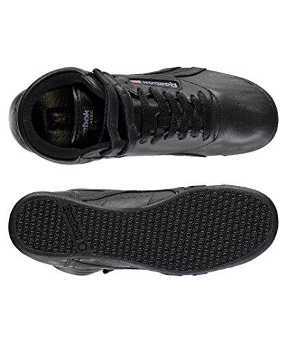 Reebok Classic Damen Sneakers Freestyle Hi OG Lux BD4467 FS High OG Schwarz (15) 40,5