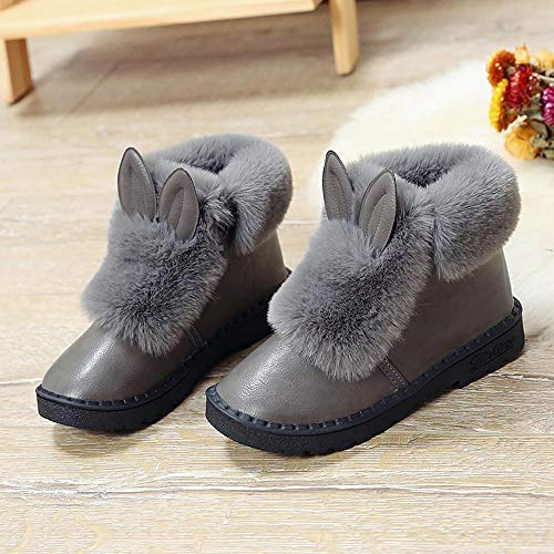 Plataforma Botas 40 Cómodo xy097 gris Mujer Cuña Altas Tacon De 35 Moda Martin Calzado Botines Gris Zapatos Invierno negro Logobeing 4pwdqPP