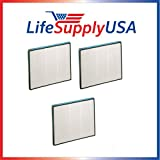 3 Pack Replacement Filter to fit Hunter 30940 30210 30214 30215 30216 30225 30260 30398 30400 30401 by Vacuum Savings