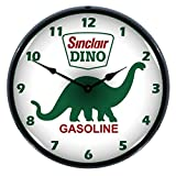 "Collectable Sign and Clock 905212 14"" Sinclair Dino Light..."