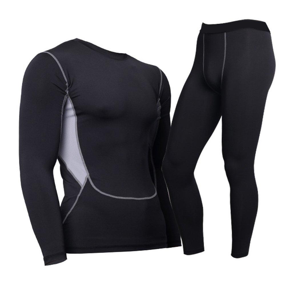 Hibote Sportswear Tuta sportiva da uomo Felpa e pantaloni sportivi Abbigliamento sportivo Tuta - Biancheria intima da esterno, Biancheria intima da sci, Biancheria intima da moto, Biancheria intima T171224MY1-X