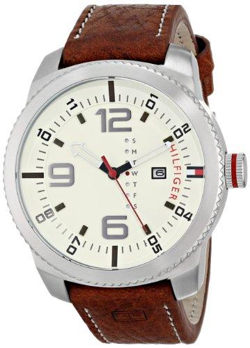 Tommy Hilfiger Men s 1791013 Analog Display Quartz Brown Watch