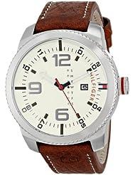 Tommy Hilfiger Mens 1791013 Analog Display Quartz Brown Watch