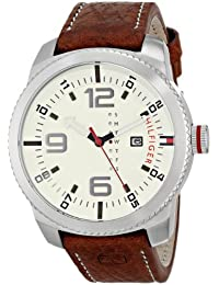Mens 1791013 Analog Display Quartz Brown Watch