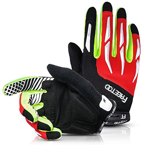 Cycling-Gloves-FREETOO-Full-Finger-Cycling-Gloves-Riding-GlovesBike-GlovesMountain-Bike-Gloves-Breathable-Elastic-and-Protective-MenWomen-Work-Gloves