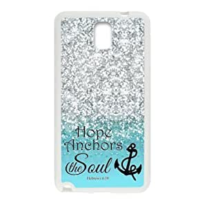 For Case Iphone 6 4.7inch Cover - Hope Anchor Soul Hebrew 6:19 - Bible Verse Blue Sparkles Glitter For Case Iphone 6 4.7inch Cover PC (Laser Technology) Case Hard Sides Shell