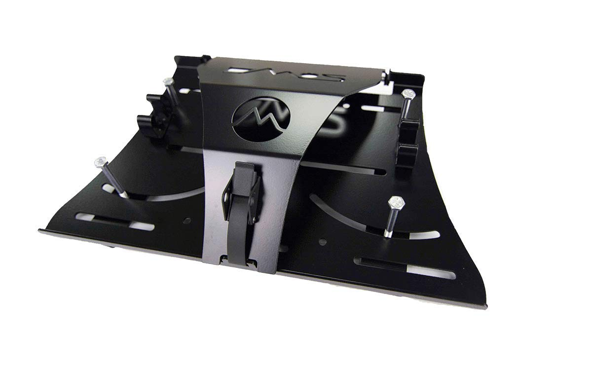 DMOS Alpha 2 Shovel Mount - for Van/SUV Roof Racks, Truck Beds ATV/UTV's & More by DMOS