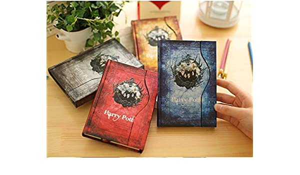 Amazon.com : REFIT Harry Potter Notebook Planner Magic Book ...
