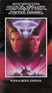 Star Trek V - The Final Frontier (Widescreen Edition) [VHS]
