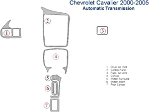 Chevrolet Cavalier Dash Trim Kit, Automatic Transmission - Honey Burlwood
