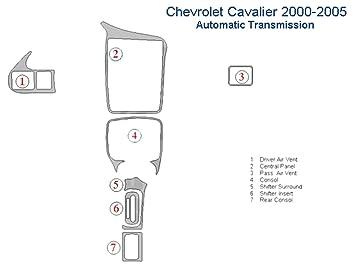 Amazon Com Chevrolet Cavalier Dash Trim Kit Automatic Transmission