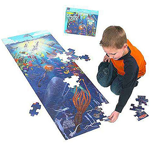 Under the Sea: 100-Piece Floor Puzzle (Sea Floor Life Puzzle)