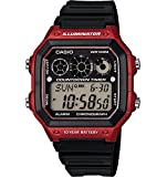 Casio Men's AE-1300WH-4AV Referee Timer Watch