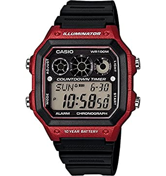 digital dp alarm daily gptugl watches with amazon com stylish stopwatch countdown watch casio timer and calendar ladies