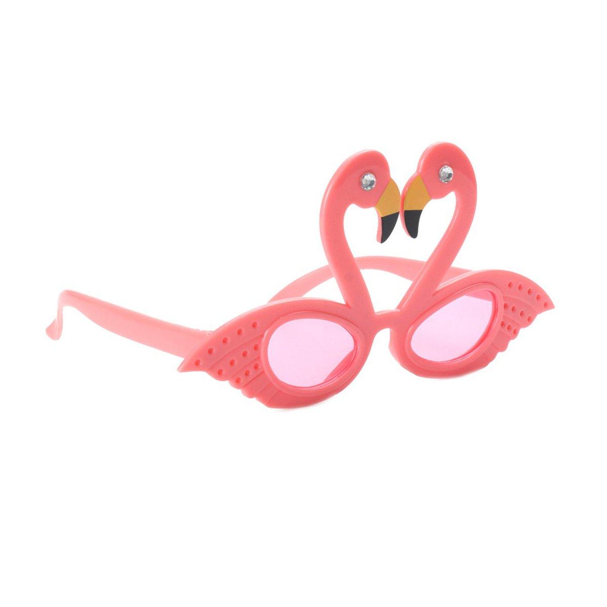 YeahiBaby 2pcs Gafas de Divertidas de Sol Gafas de Flamingo ...