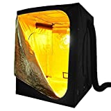 Cheap LEESONS 600D 60x60x78″ 100% Reflective Mylar Hydroponics Indoor Grow Tent Non Toxic Room
