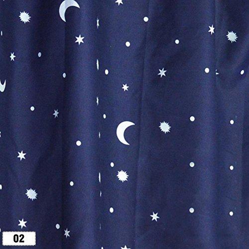 WXLAA Bunk Bed Single Bed Tent Curtain Cloth Dustproof Ventilation Blackout Fabric 02#