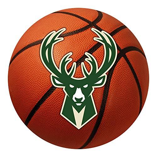 - FANMATS NBA Milwaukee Bucks Nylon Face Basketball Rug