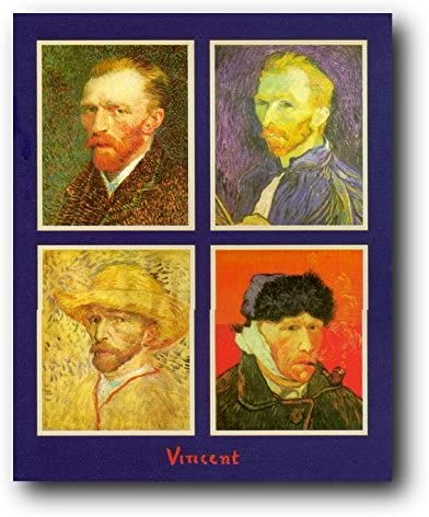 Vincent van Gogh Self Portrait Framed photo paper poster