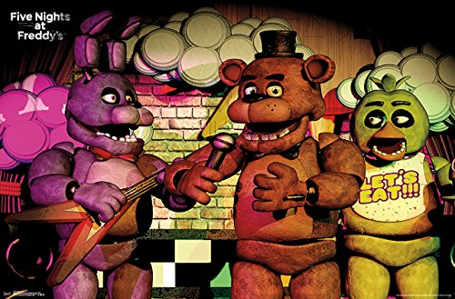 Trends International Five Nights At Freddys Band Wall Poster